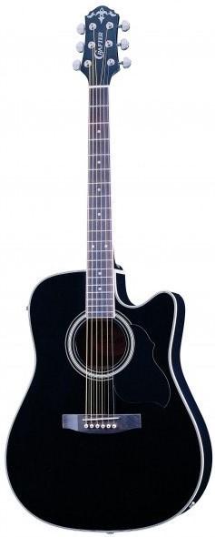 Акустическая гитара Crafter ED-75 CEQ/BK