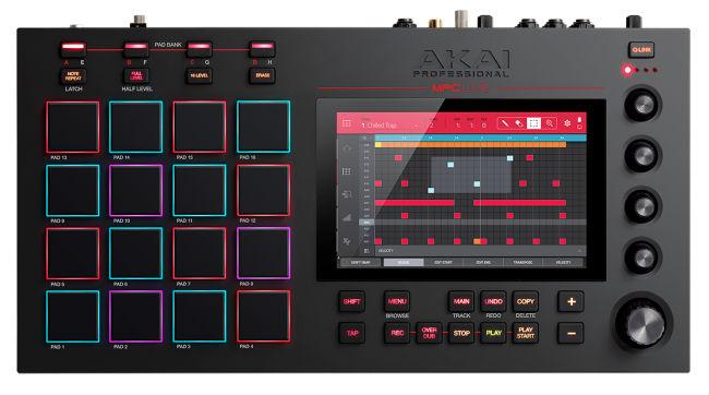 Dj-контроллер Akai Pro MPC Live