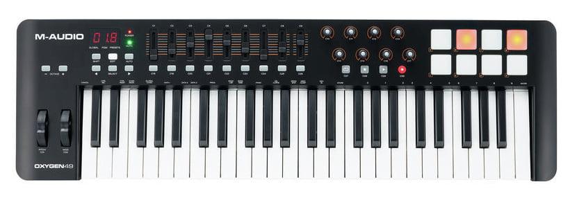 Миди-клавиатура M-Audio Oxygen 49 MK IV