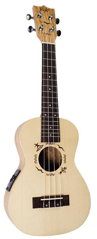 Акустическая гитара Flight DUC 525 CEQ SP/ZEB