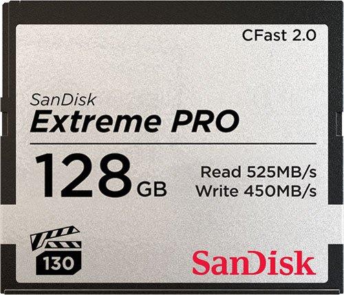 Карта памяти SanDisk Extreme Pro CFast2.0 128Gb