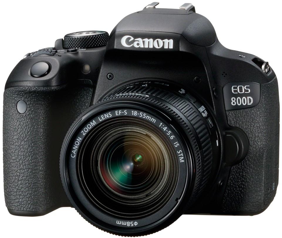 Фотоаппарат Canon EOS 800D Kit EF-S 18-…