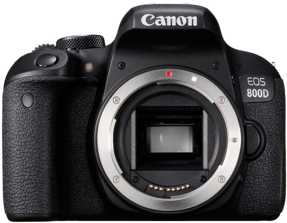 Фотоаппарат Canon EOS 800D Body Black
