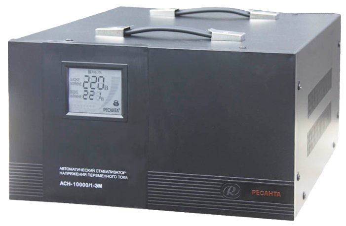 Стабилизатор напряжения Ресанта ACH-10000/1-ЭМ