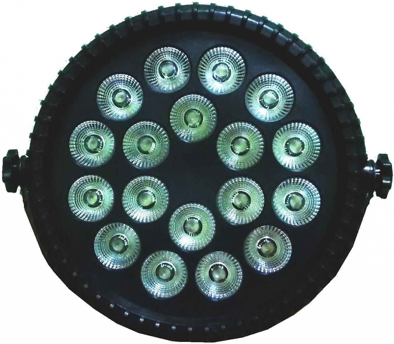 Pro Svet Light PSL-PAR LED 186 PL RGBWAUV