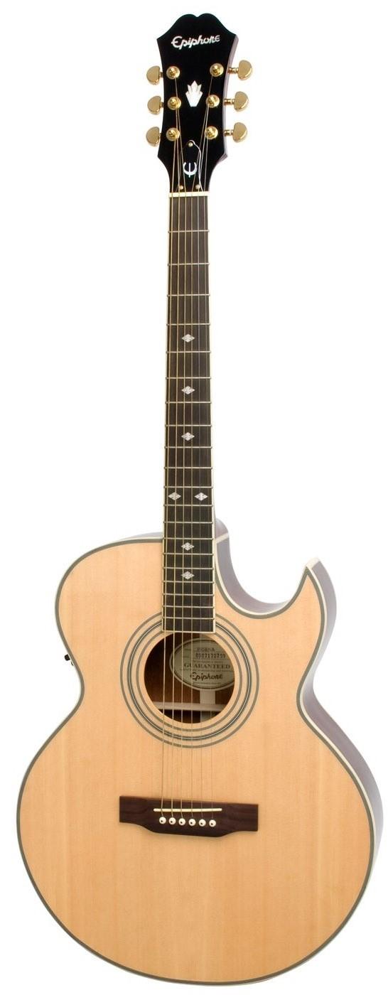 Акустическая гитара Epiphone PR-5E Natural Gold HDWE (w/Shadow Preamp)