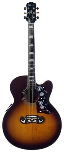 Акустическая гитара Epiphone EJ-200CE V…