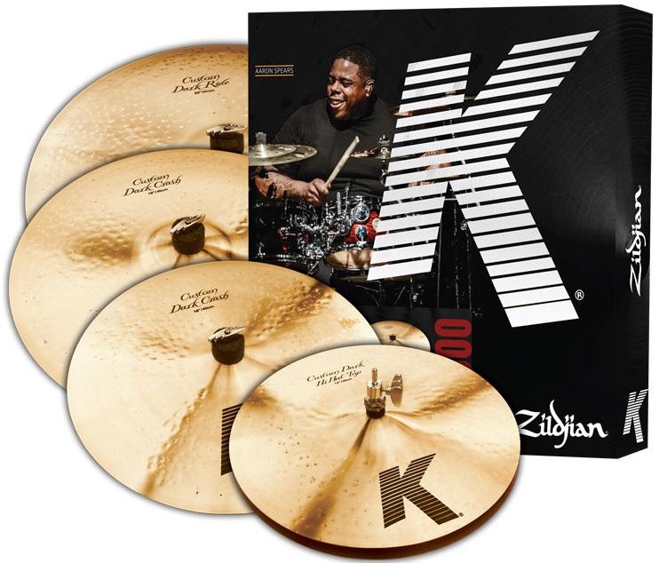 "Комплект тарелок Zildjian K Custom Dark 5 PC Cymbal Set 14/16/18/20"""