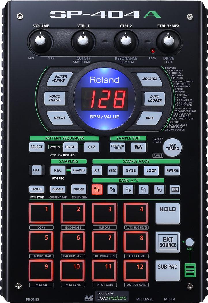 Dj-процессор эффектов Roland SP-404A