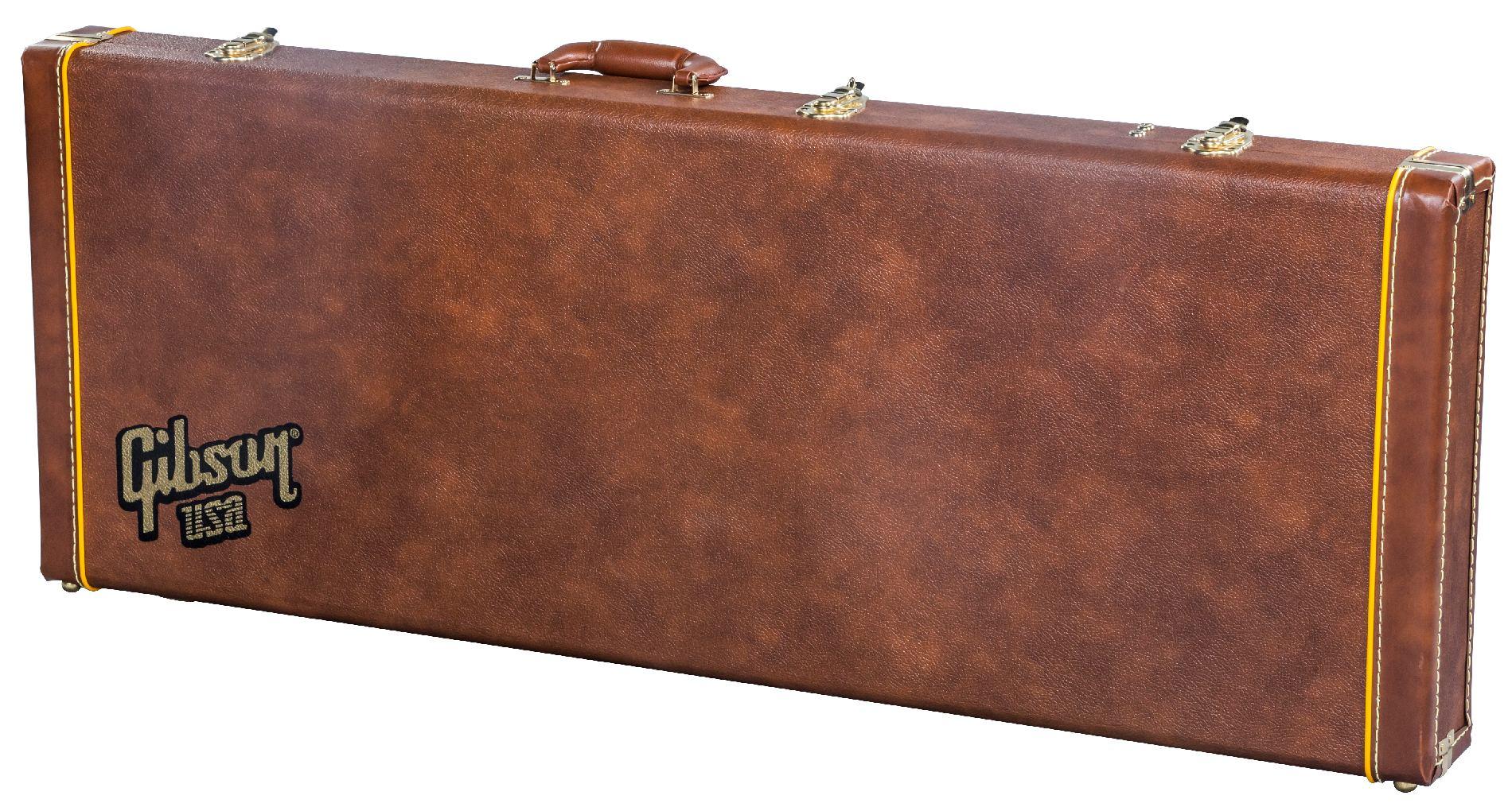 Кейс Gibson Hard Shell, Case, Explorer Historic Brown
