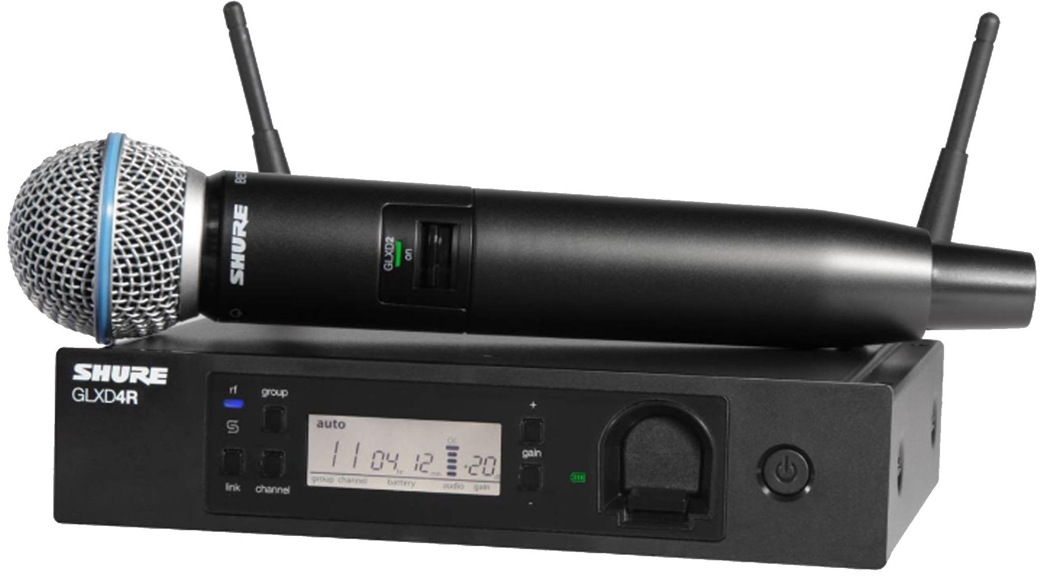 Радиосистема Shure GLXD24RE/B58 Z2 2.4 GHz