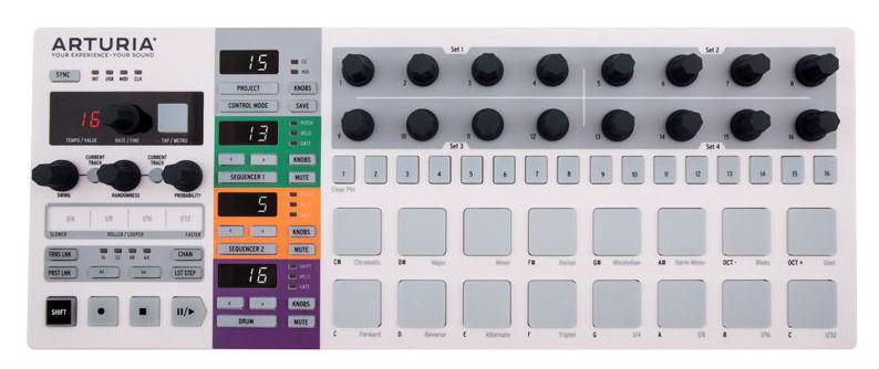 Dj-контроллер Arturia BeatStep Pro USB MIDI