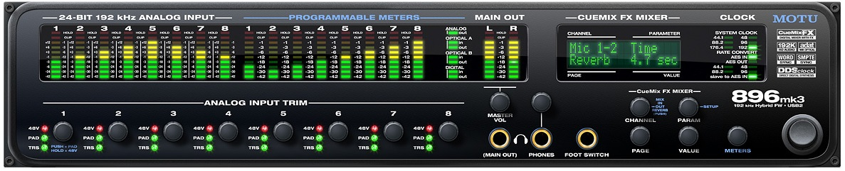Звуковая карта MOTU 896 MK3 Hybrid
