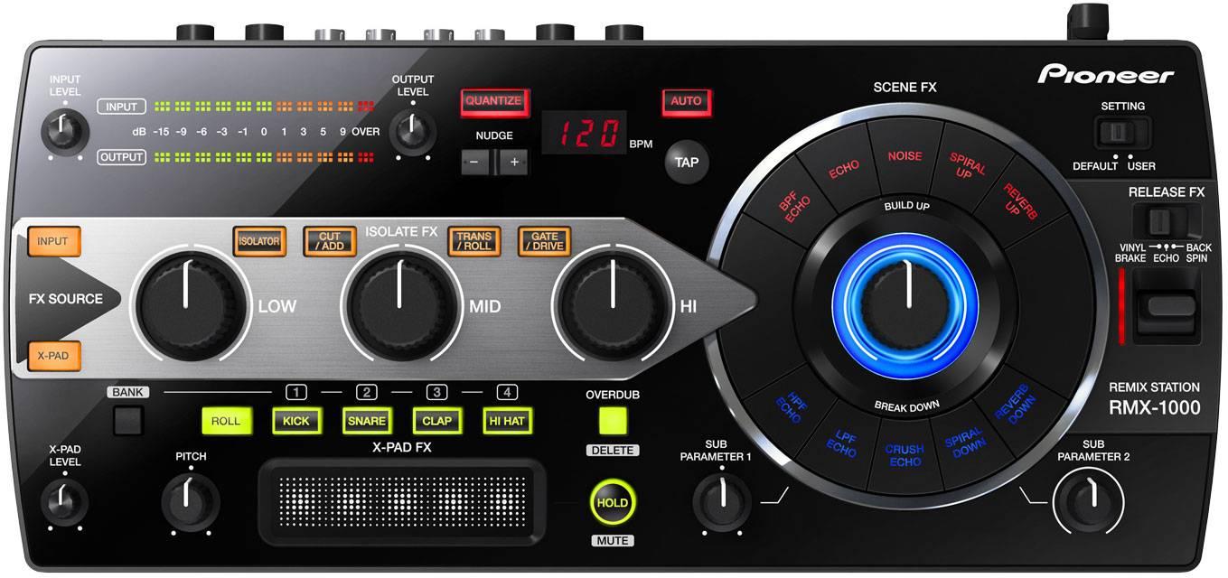 Dj-процессор эффектов Pioneer RMX-1000 …