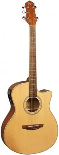 Акустическая гитара Flight AG-210 CEQ NA