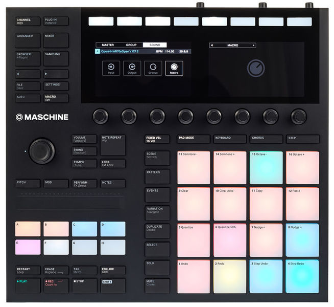 Dj-контроллер Native Instruments Maschine Mk3