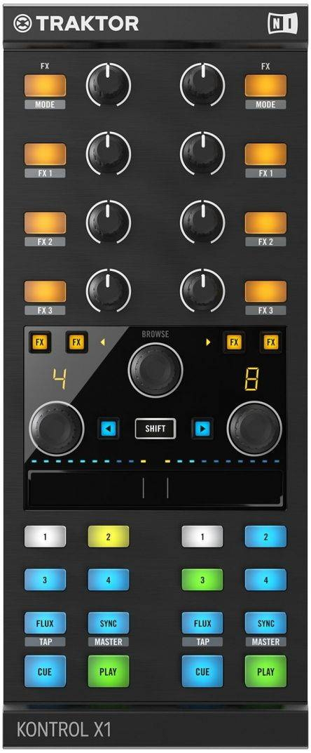 Dj-контроллер Native Instruments Traktor Kontrol X1 Mk2