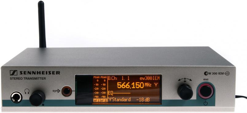 Передатчик Sennheiser EW 300 IEM G3-G-X