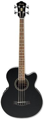 Бас-гитара Ibanez AEB8E Black