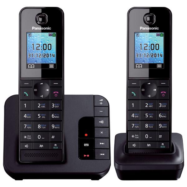 Радиотелефон Panasonic KX-TGH222 Black