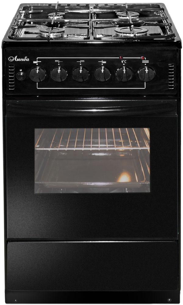 Плита Лысьва ЭГ 401-2у черный, без крышки