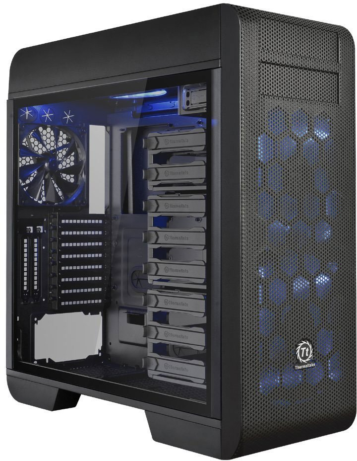 Корпус для компьютера Thermaltake Core V71 Tempered Glass Edition E-ATX Black