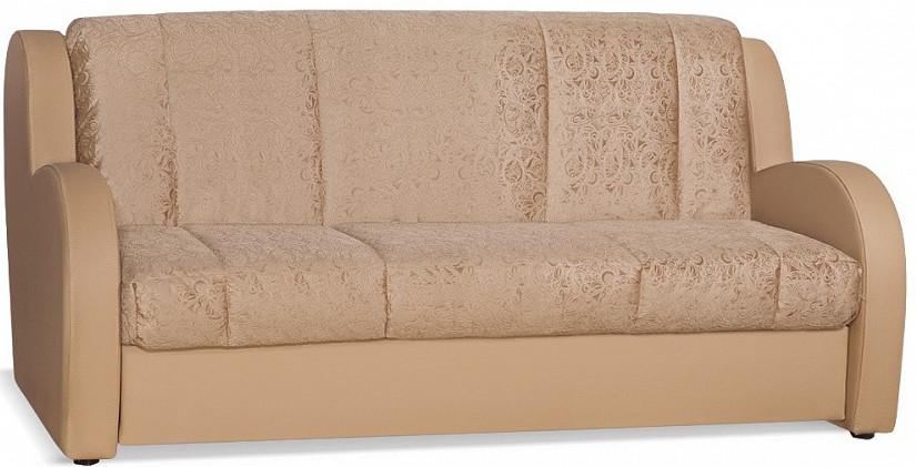 Диван-кровать Цвет Диванов Барон 155 Next молочный шоколад 185x110x90 см (ящик для белья)