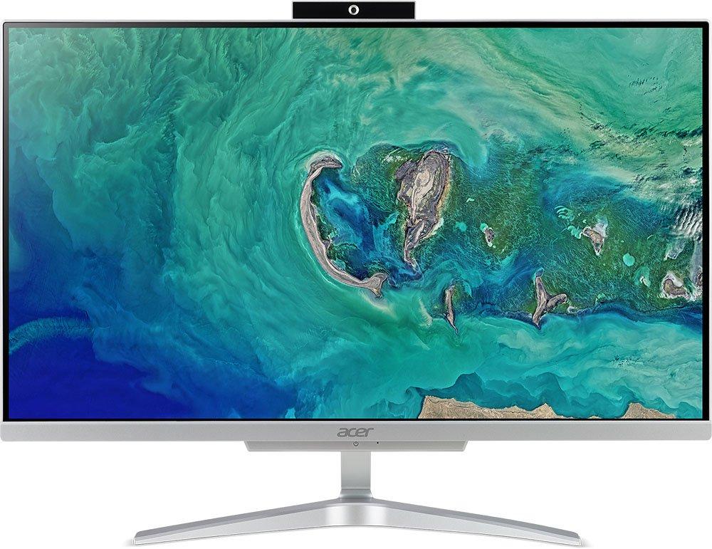 "Моноблок Acer Aspire C24-865 23,8""/2,2GHz/4Gb/128GbSSD/W10 Silver"