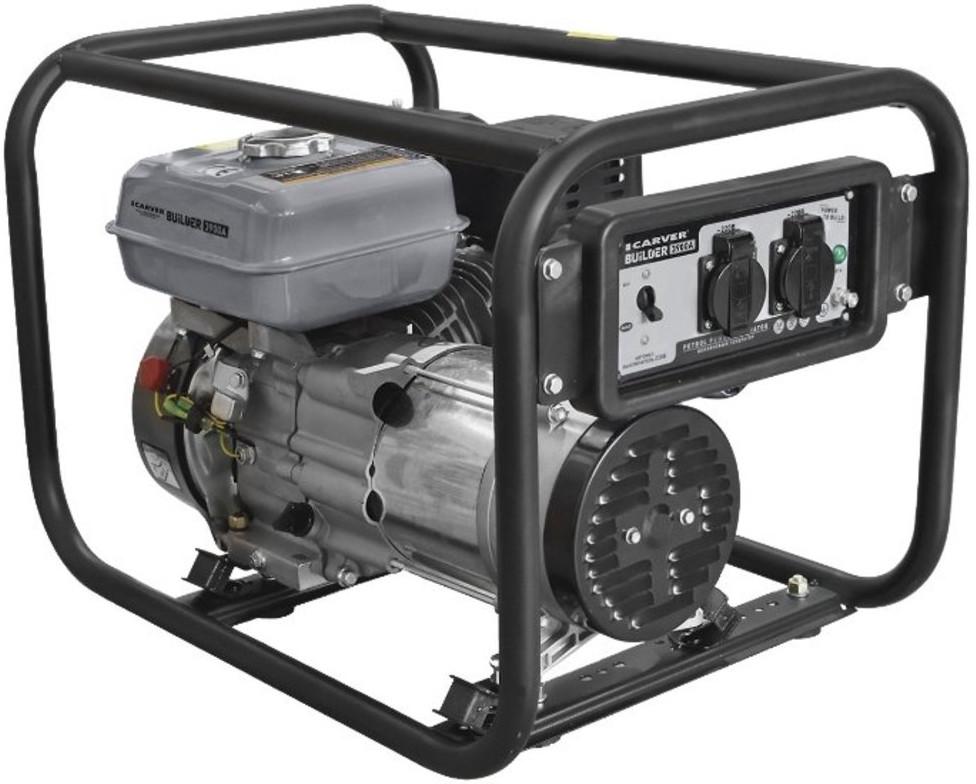 Бензогенератор Carver PPG-3900А Builder
