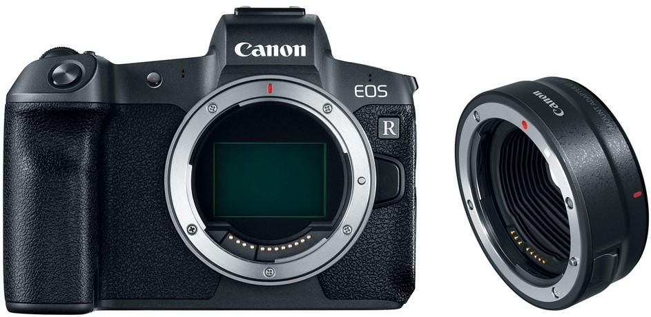 Фотоаппарат Canon EOS R Body Black + Ad…