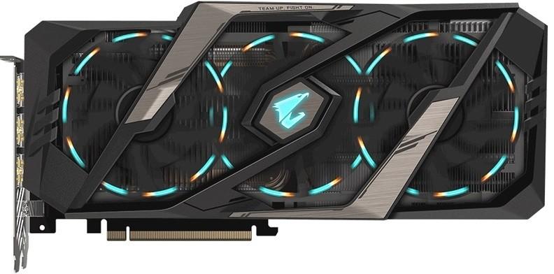 Видеокарта Gigabyte GeForce RTX 2080 Ti Aorus 11Gb