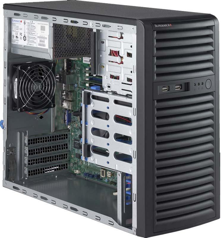 Серверная платформа Supermicro SuperServer 5039D-I