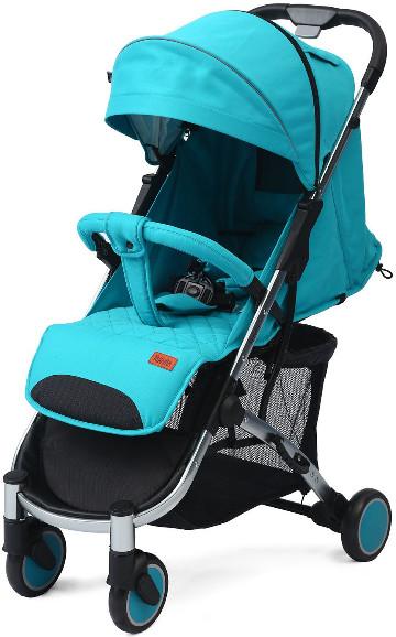 Коляска Nuovita Snello Turquoise/Velvet