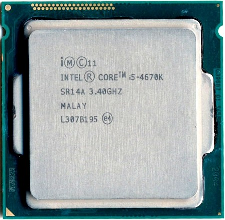 Процессор (CPU) Intel Core i5-4670 3.4GHz SR14D OEM
