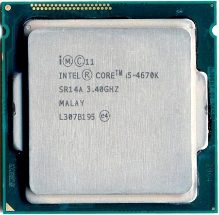 Процессор (CPU) Intel Core i5-4670 3.4G…