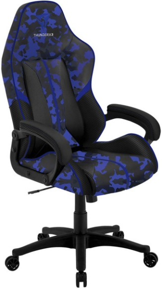 Игровое кресло ThunderX3 BC1 Air камуфляж/синий