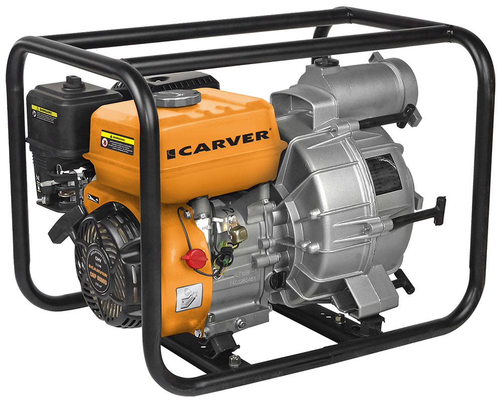Мотопомпа Carver CGP 5580D