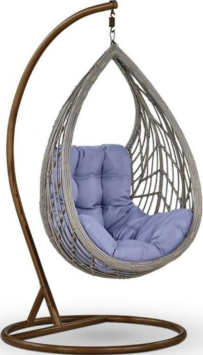 Кресло Афина-Мебель N886-W70 светло-сер…