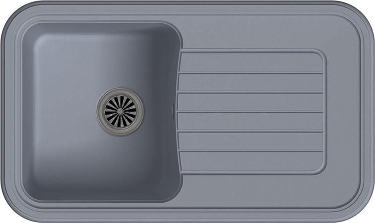 Кухонная мойка Ewigstein Antik А-60F серый