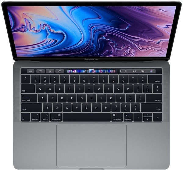 "Ноутбук Apple MacBook Pro 13,3"" with Touch Bar 1,4GHz/8Gb/128GbSSD/MacOS Space Grey"