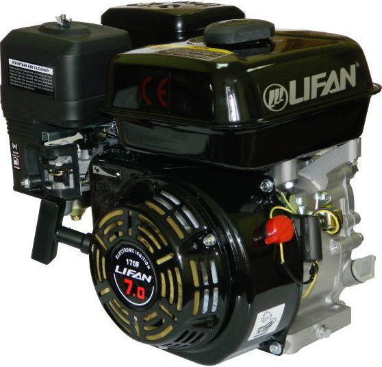 Двигатель Lifan 170FD (с катушкой 3A, 7 л.с.)