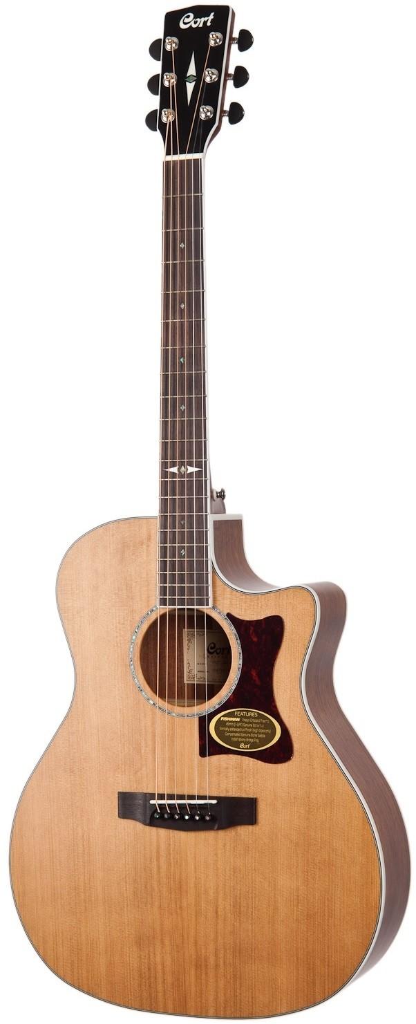 Акустическая гитара Cort GA5F-BW-NS Gra…