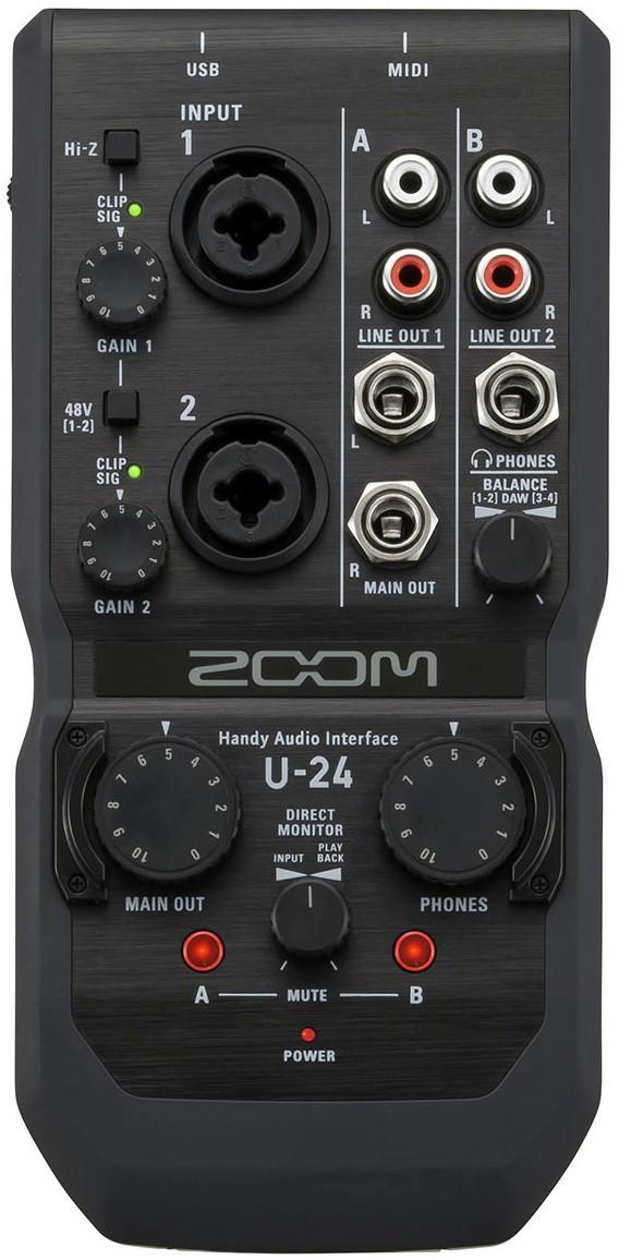 Звуковая карта Zoom U-24