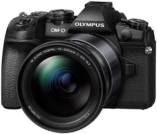 Фотоаппарат Olympus OM-D E-M1 Mark II Kit 12-200mm f/3.5-6.3 Black