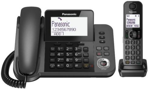 Радиотелефон Panasonic KX-TGF320 Black