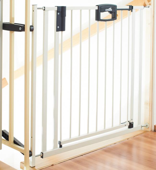 Ворота безопасности Geuther EasyLock Plus белый 84,5-92,5 см