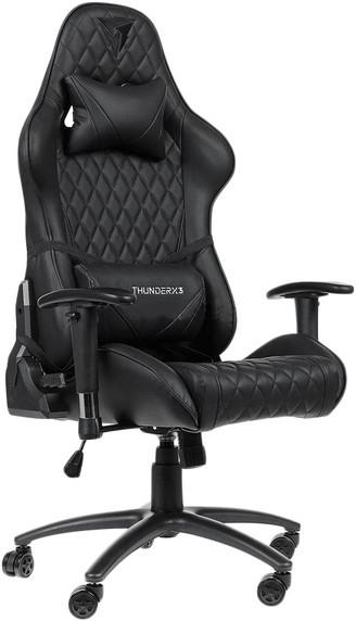 Игровое кресло ThunderX3 TGC15-B черный