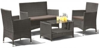 Комплект мебели Афина-Мебель AFM-2025G  серый