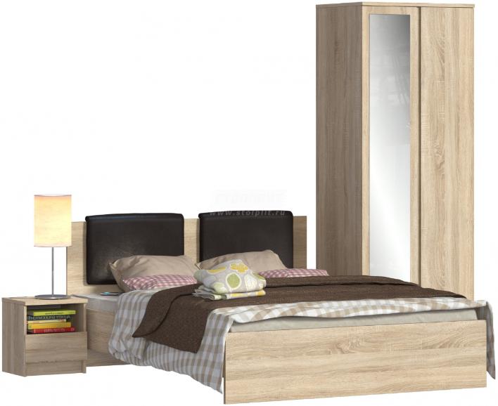 Спальня Столплит Веста 122-575-944-0000 дуб сонома