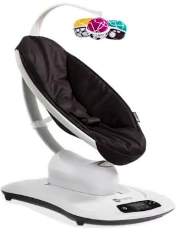 Кресло-качалка 4moms MamaRoo 4.0 черный